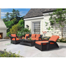 PE+Wicker+Furniture+Outdoor+Patio+Wicker+Sofa