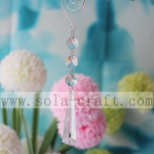 Lots Assorted Color Acrylic Crystal Chandelier Pendant Prism 17CM