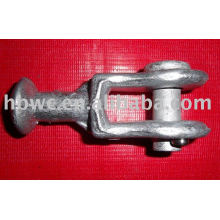 línea de poste hardware-ojo de bola de acero galvanizado