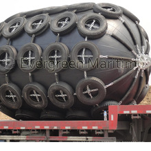 Yokohama Pneumatic Rubber Fenders with CCS and ISO 17357