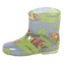 Ocean Printing Lining Rain Boots For Baby
