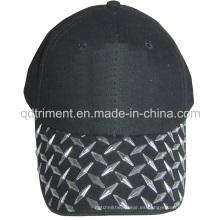 Gorra de béisbol de ocio de sarga de algodón de impresión de alta frecuencia (TMB02880)