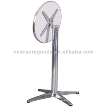 Aluminum round folding bar table 110cm high