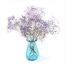 Colorful Elegant Good Design Cylinder Clear Flower Glass Vase, Glass Art Vase, Colored Glass Vases