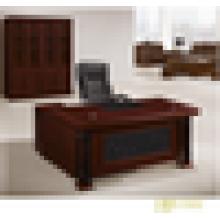 Escritorio de oficina curvado escritorio de oficina de alto brillo escritorio de oficina único