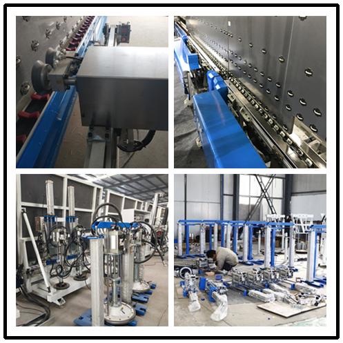 Double glazing sealing robot