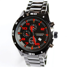 Sport Fashion Steel Quartz Men Watch