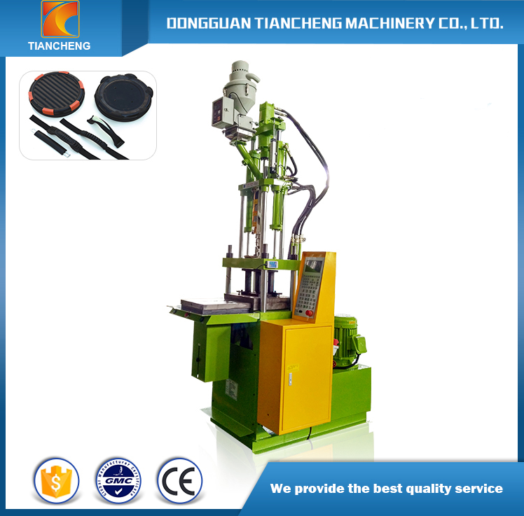 Single Slide Table Vertical Injection Machinery