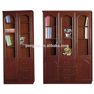 factory direct sale antique wooden bookcase with photos