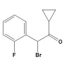 2-Бром-2- (2-фторфенил) -1-циклопропилэтанон CAS № 204205-33-4