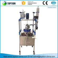 TST-5BS 5l glass lined reactor properties/glass lined equipment
