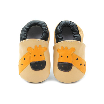 2018 Cute Cartoon Baby Walker Shoes Leather Soft