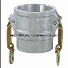 Acessórios de tubos de alumínio Camlock
