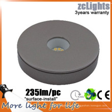 Slim 12V Gabinete luces de cocina de gama Superficie montado IP44 LED gabinete de luz LED bajo gabinete luces