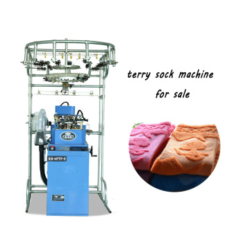 Cheap price for China Socks Sewing Machine,Single Cylinder  Knitting Machine Manufacturer Fully automatic terry socks knitting machines price supply to Solomon Islands Factories