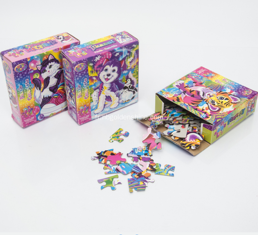 Lisa Frank Paper Jigsaw Puzzle