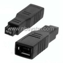 Firewire 1394 9P adaptateur mâle à 6P femelle grand type