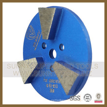 Quanzhou Diamond Floor Grinding Concrete Plate (SYYH-02)