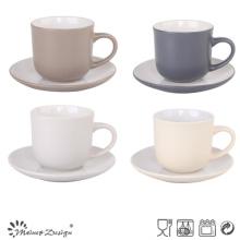 Tasses à thé en vrac et soucoupe en Chine