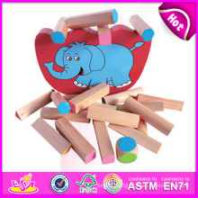 2014 Wooden Block Toy Balance Baby Toy Game W11f034