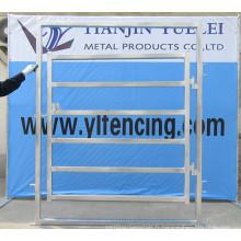 Panneaux de clôtures de sécurité en fer forgé / panneau d'escrime de sécurité / panneau de clôture de bovins galvanisés à chaud