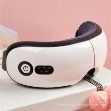 Tratamiento natural de masaje de ojos con calentamiento de grafeno