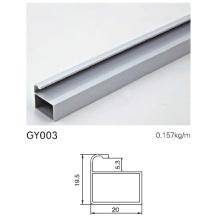Marco de aluminio para el gabinete de cocina