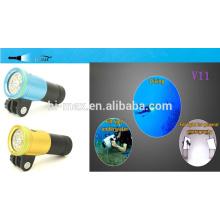 High Quality Diving Video/Photo Flashlight and Diving Spot light 860lumen