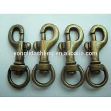 Fabricante profesional del metal gancho al por mayor del broche de presión del perro del metal de la alta calidad