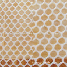 Plastic Flat Mesh with Virgin HDPE, Harmless to Environment