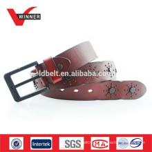Cinturões reais de couro para vaca para homens