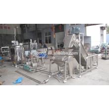 Precio confiable de la maquinaria de la planta de tratamiento de la naranja de acero inoxidable comercial pequeña pequeña
