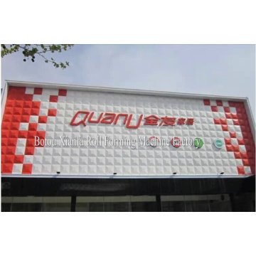 Color Steel Sheet 3D Billboard Forming Machine