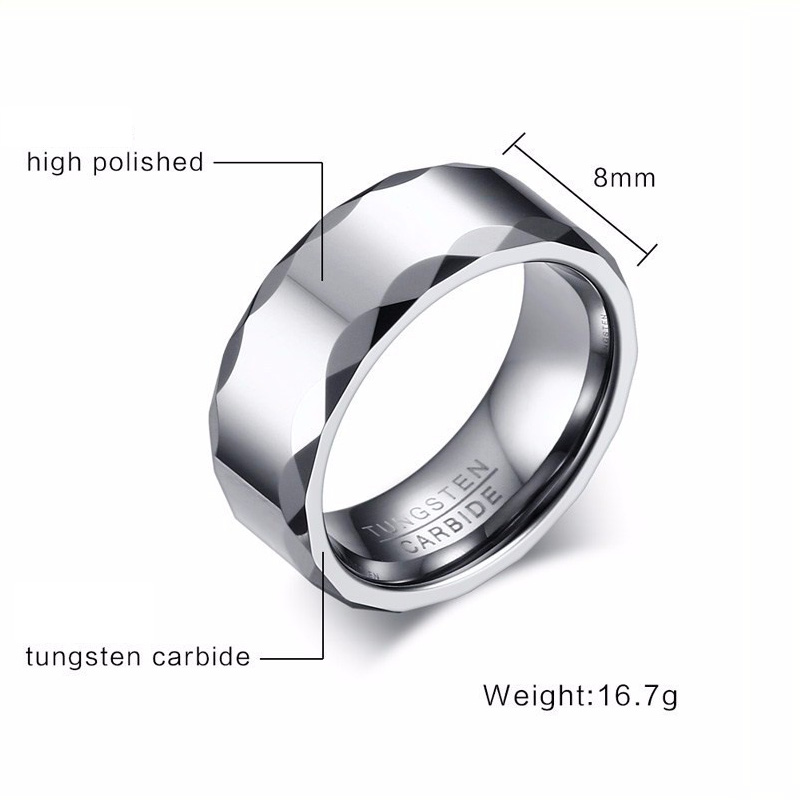 Tungsten Engagement Rings For Him