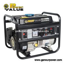 Equipos de generación de energía generador portátil de gasolina 900w