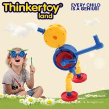 O melhor jogo do brinquedo Blocos plásticos dos blocos de construção para o bebê