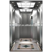 Decoración de coches de lujo, bajo ruido de trabajo confiable Pequeño ascensor de pasajeros de sala de máquinas