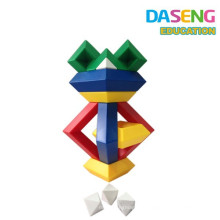 Diamante bloques de construcción mágica pirámide torre cubo juguetes educativos para niños