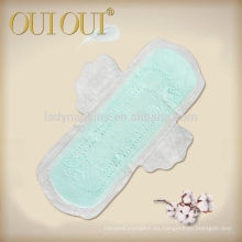 Almohadilla higiénica de confort de tejido seco de 280 mm Plum Blossom