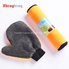 Customized Microfiber Cleaning Paw Glove