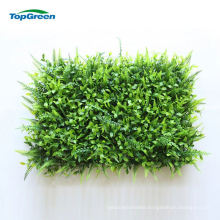Muti Use Decorative Artificial Succulent Green Grass Wall