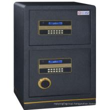 Metal two door full steel bank safe deposit box money safe box money safe box