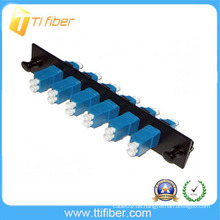 6 Port SM LCUPC Fiber Adapter Patch Panel mit Duplex LC Adapter