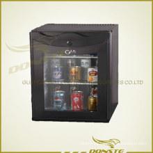 Hotel Appliance Deluxe Foaming Glass Door Refrigerator