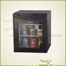 Refrigerador de porta de vidro espumante Deluxe