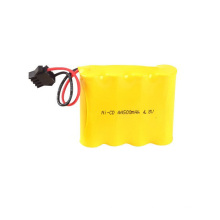 1.2V 400mah AA Ni-Cd rechargeable battery pack 4.8V AA 600
