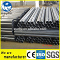 China proveedor Bared soldado ERW tubo de acero para grúas torre