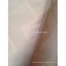 Neue Ankunft moderner kurzer Art 100% Polyester quadratischer Form Jacquardvorhang