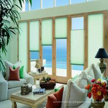 Diseño atractivo pieza ciega / persiana plisada