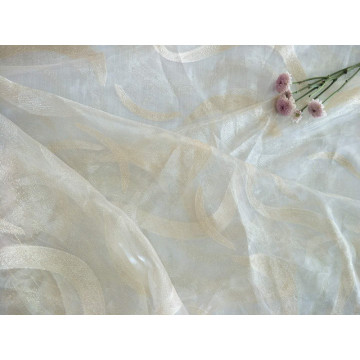 100% Polyester New Design Cut Sheer Table Cloth